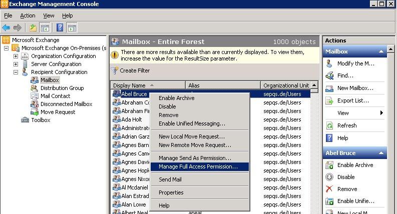 Microsoft Exchange Server 2007/2010 en - SEPsesam