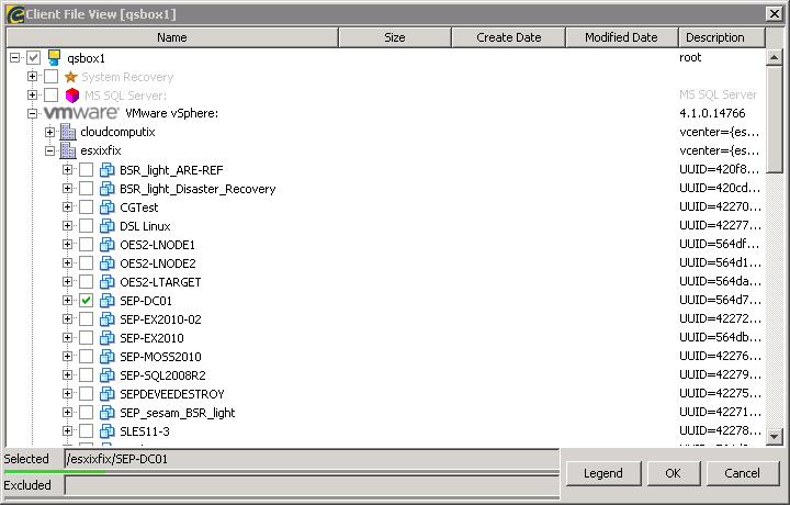 Archive:SEP sesam backup client for VMware vStorage API 4 4