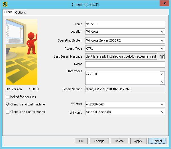 Archive:Single Item Restore from VMware vSphere Backup